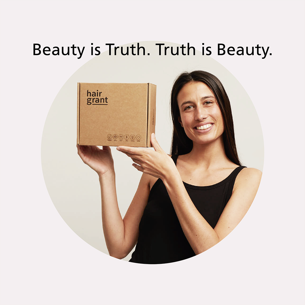 Beauty is truth. Truth is beauty.
